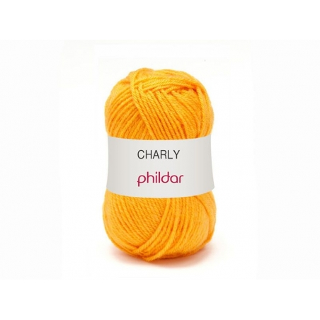 "Knitting wool - ""Charly"" - Mustard yellow"
