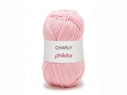 "Knitting wool - ""Charly"" - Pink"
