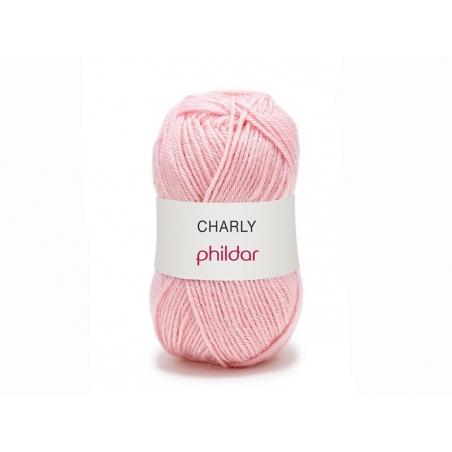 """Knitting wool - """"Charly"""" - Pink"""
