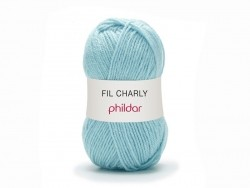 "Knitting wool - ""Charly"" - Azure"