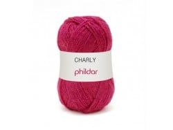 "Strickwolle - ""Charly"" - Fuchsienrot"