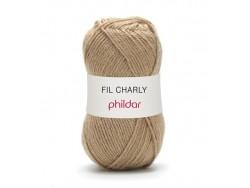 Laine à tricoter Charly - Beige biche