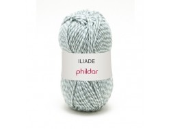 "Knitting wool - ""Iliade"" - Fjord, striped"