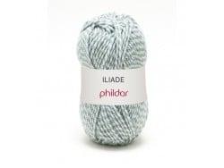 Laine à tricoter Iliade - Rayée Fjord