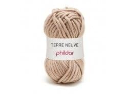 "Knitting wool - ""Terre Neuve"" - Dark vanilla"