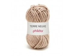 Laine à tricoter Terre Neuve - Marron Ourson