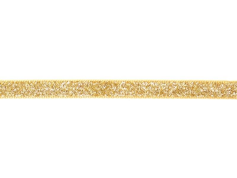 """Acheter Bobine 2m de ruban fantaisie """"paillettes"""" 10 mm - doré 103 - 1,99€ en ligne sur La Petite Epicerie - Loisirs créatifs"""