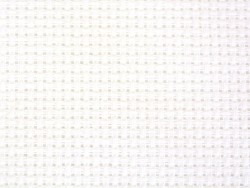 Aida fabric for embroideries (5.4) - White