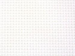 Toile Aïda à broder 5.4 - Blanc