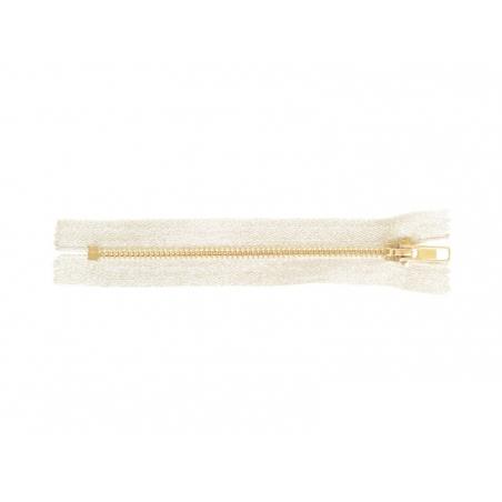 Acheter Fermeture éclair métallique argent - 15 cm - 3,70€ en ligne sur La Petite Epicerie - 100% Loisirs créatifs