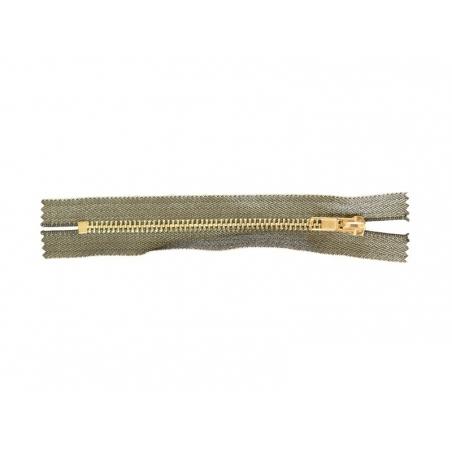Acheter Fermeture éclair métallique noir - 15 cm - 3,70€ en ligne sur La Petite Epicerie - Loisirs créatifs