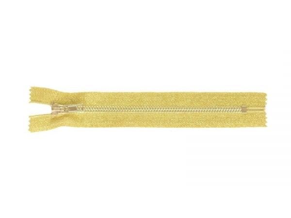 Acheter Fermeture éclair métallique or - 18 cm - 4,30€ en ligne sur La Petite Epicerie - Loisirs créatifs