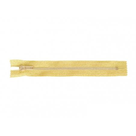 Acheter Fermeture éclair métallique doré - 20 cm - 4,99€ en ligne sur La Petite Epicerie - 100% Loisirs créatifs
