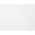 Toile Aïda à broder 7.2 - Blanc