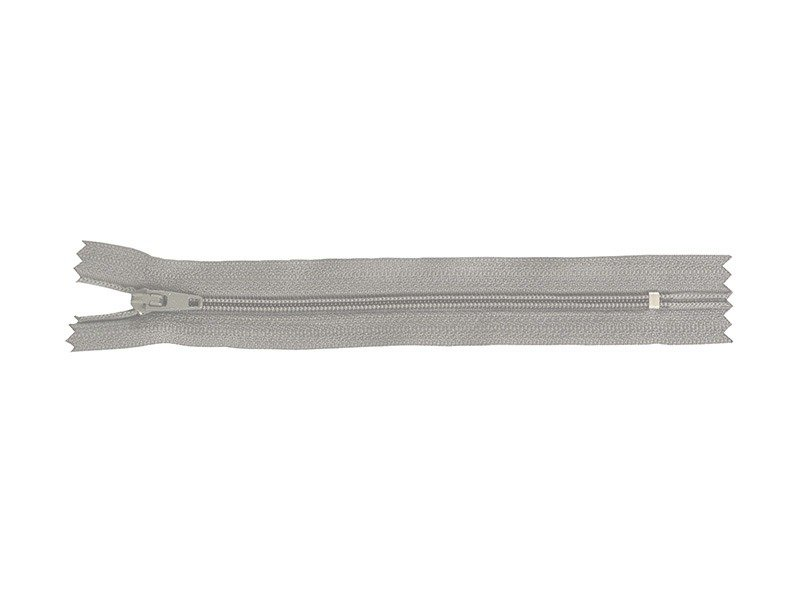 Acheter Fermeture éclair fine 15 cm - Gris clair - 1,29€ en ligne sur La Petite Epicerie - 100% Loisirs créatifs
