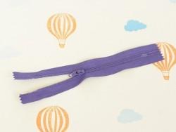 Fermeture éclair fine 15 cm - Violet