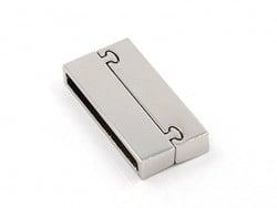 Acheter Fermoir aimanté rectangulaire 37 mm - couleur argenté - 4,60€ en ligne sur La Petite Epicerie - 100% Loisirs créatifs