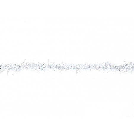 "Bobine 2m de ruban fantaisie ""guirlande"" 3 mm - argenté 202"