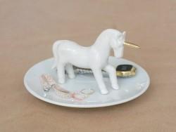 Coupelle à bijoux licorne