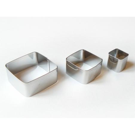 Acheter 3 emporte-pièces CARRES - 4,99€ en ligne sur La Petite Epicerie - Loisirs créatifs