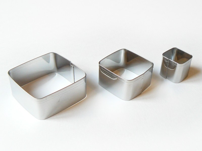 Acheter 3 emporte-pièces CARRES - 4,99€ en ligne sur La Petite Epicerie - 100% Loisirs créatifs