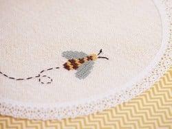 Stranded cotton skein (8 m) - Yellow (colour no. 725)