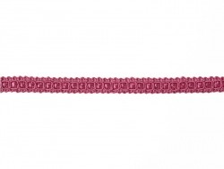 Decorative ribbon spool (2 m) - lace (9 mm) - fuchsia (colour no. 078)
