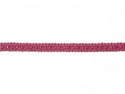 Rolle Zierband (2 m) - Spitze (9 mm) - fuchsienrot (Farbnr. 078)