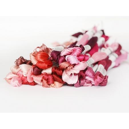 Stranded cotton skein (8 m) - burgundy (colour no. 321)