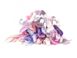 Stranded cotton skein (8 m) - Pink (colour no. 819)