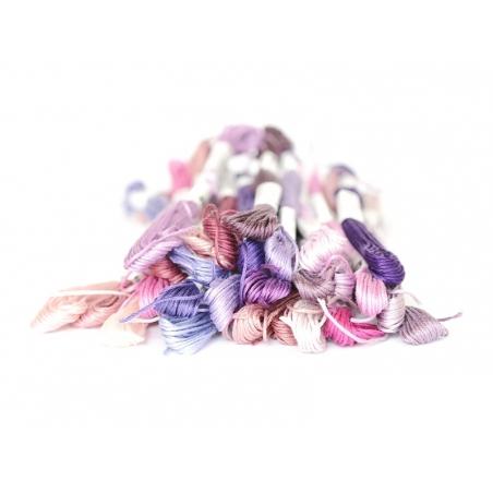 Echevette de coton mouliné de 8 m - Violet  Rico Design - 3