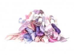 Acheter Echevette de coton mouliné de 8 m - Violet 553 - 1,39€ en ligne sur La Petite Epicerie - Loisirs créatifs
