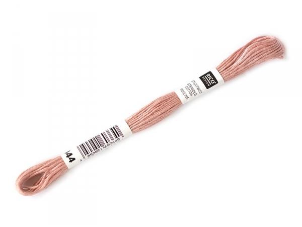 Echevette de coton mouliné de 8 m - Rose 152