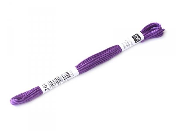 Stranded cotton skein (8 m) - Violet (colour no. 553)