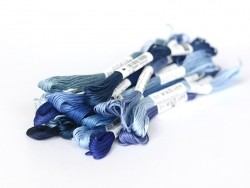Stranded cotton skein (8 m) - blue (colour no. 820)