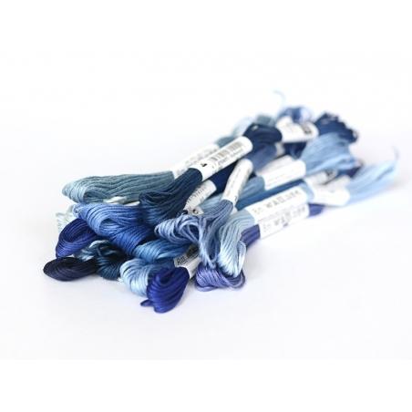 Acheter Echevette de coton mouliné de 8 m - Bleu 3753 - 1,39€ en ligne sur La Petite Epicerie - Loisirs créatifs