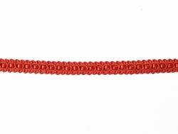 """Bobine 2m de ruban fantaisie """"dentelle"""" 9 mm - rouge 008"""