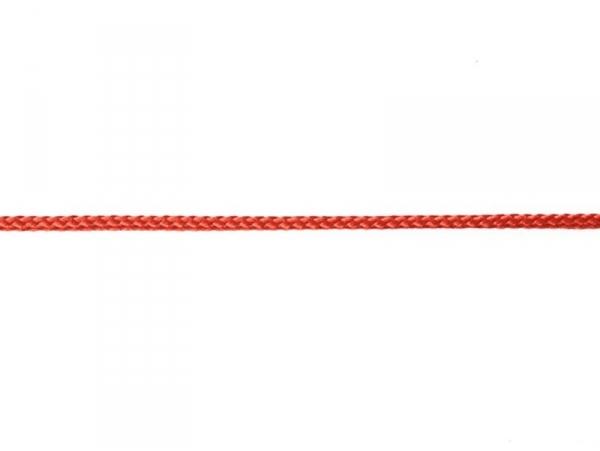 """Bobine 2m de ruban fantaisie """"cordelette"""" 3 mm - rouge 008"""