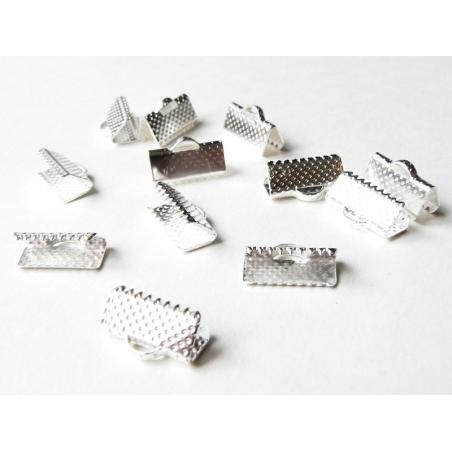 Acheter Fermoir griffe pour biais de tissu 13 mm - couleur argenté foncé - 0,19€ en ligne sur La Petite Epicerie - 100% Lois...