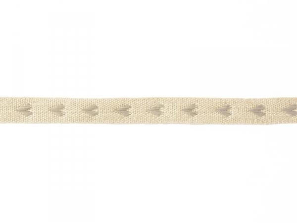 """Acheter Bobine 2m de ruban gros grain en lin tissé """"coeurs"""" 10 mm - gris 231 - 2,99€ en ligne sur La Petite Epicerie - 100% ..."""