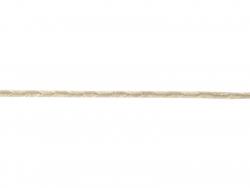 "Bobine 2m de ruban gros grain en lin ""chevron"" 4 mm - gris 231"