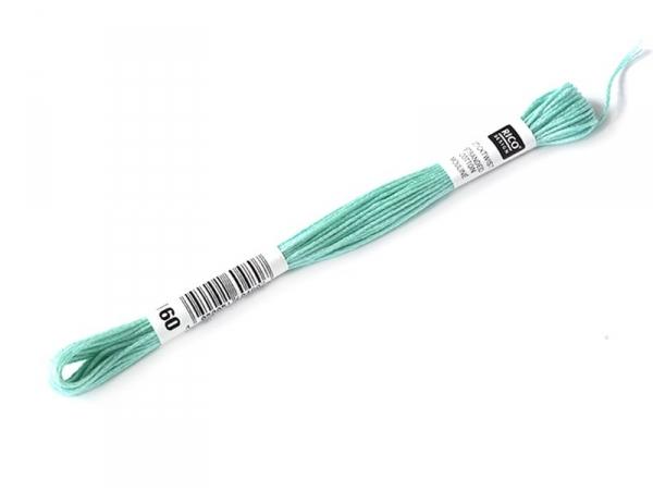 Echevette de coton mouliné de 8 m - Vert 964