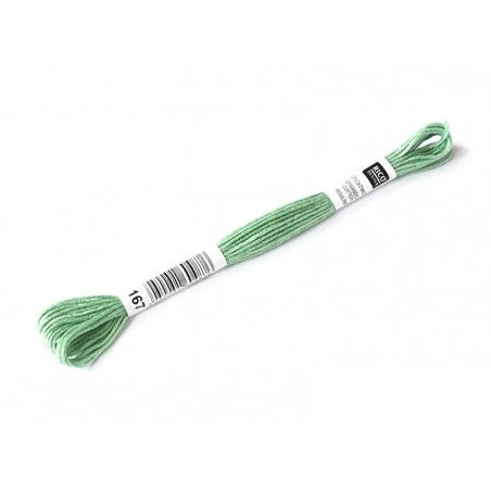 Acheter Echevette de coton mouliné de 8 m - Vert 563 - 1,39€ en ligne sur La Petite Epicerie - 100% Loisirs créatifs