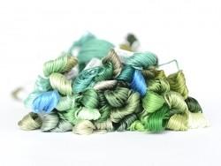 Echevette de coton mouliné de 8 m - Bleu 3843