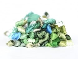 Stranded cotton skein (8 m) - Green (colour no. 501)