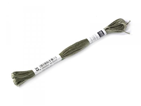Acheter Echevette de coton mouliné de 8 m - Vert 646 - 1,39€ en ligne sur La Petite Epicerie - 100% Loisirs créatifs