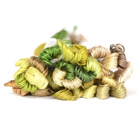 Acheter Echevette de coton mouliné de 8 m - Vert 470 - 1,39€ en ligne sur La Petite Epicerie - Loisirs créatifs