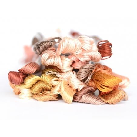 Acheter Echevette de coton mouliné de 8 m - Orange 437 - 1,39€ en ligne sur La Petite Epicerie - Loisirs créatifs