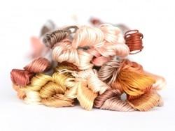 Echevette de coton mouliné de 8 m - Marron 3772