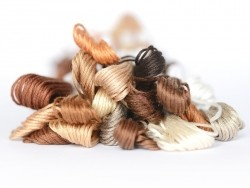 Stranded cotton skein (8 m) - beige (colour no. 3033)